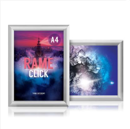 imagine prezentare rama click poster A4