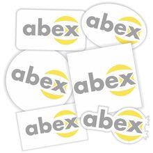 sticker decorativ decupat abex