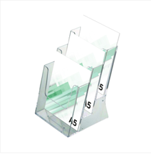 suport brosuri A5 cu 3 buzunare  abex.ro
