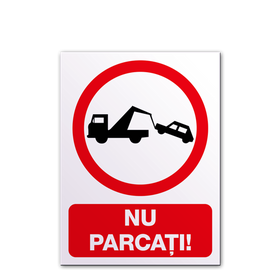semn indicator nu parcati abex.ro