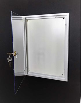 usa policarbonat avizier magnetic abex